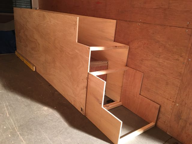 Building The Stair Case