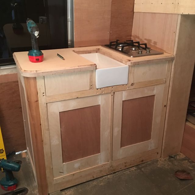 Kitchen Unit First Fix