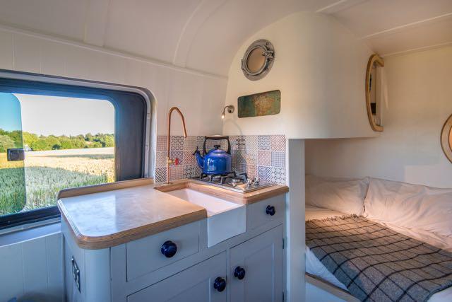 cool camper conversion interior