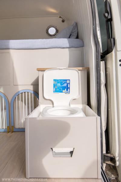 toilet camper van